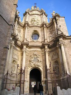 Valencia Catedral, Porta dels Ferros. #Valencia #Spain
