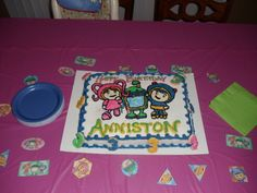 umizoomi birthday cake
