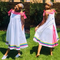 Pedi Traditional Attire, Sepedi Traditional Dresses, South African Traditional Dresses, Best African Dresses, African Fashion Skirts, African Attire, African Print Clothing, African Print Fashion, African Prints