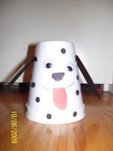 Paper Cup Dog Craft