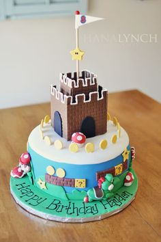 fort cake for boys