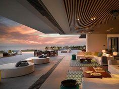 Luxury homes interior, resort interior, luxury homes dream houses, inte Villa Design, Modern House Design, Terrace Design, Resort Interior, Luxury Homes Dream Houses, Luxury Homes Interior, Modern Interior, Luxury Decor, Luxury Lighting
