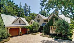 1595 Canada Lane, Woodside, California | $7,495,000. European country charmer, quietly set on a 1.68-acre lot. The 4,789 square-foot abode embodies that Woodside promise: a private sanctuary with walls draped in ivy and beautiful surrounding grounds that blend in harmony with a genteel style.
