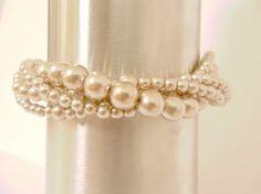 pearl champeigne bracelet