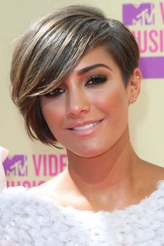 Frankie Sandford...short hair inspiration. Going back to this cut