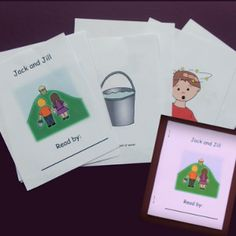 Free Sample of a Small Printable Book of Jack and Jill.