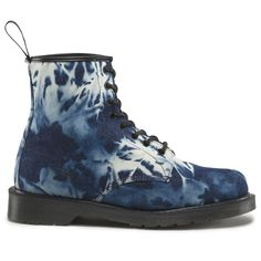 Dr. Martens Castel Boot – bleached denim