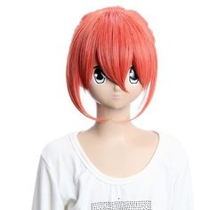 Costume Wigs Gintama Kagura Dark Orange Wigs Cosplay Wigs Party Wigs Costume Wigs by GOOACTION. $25.28. Package:1 PCS. Length :about 12.6 inch. Hair Style: Cosplay Wigs. Material : High temperature wire. Color : AS PICTURE ,Color Shown: (Color may vary by monitor.). Brand: GOOACTION Recommended features: 1. Super natural wig , suitable for almost every lady aged from teenagers to adults. 2. With the high technology, Miss Beauty wig series are quite soft and smo...