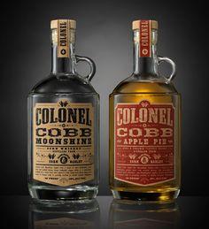 Colonel Cobb Moonshine & Colonel Cobb Apple Pie