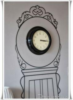 Kinderzimmer Clock, Wall, Home Decor, Projects, Homes, Watch, Homemade Home Decor, Clocks, Decoration Home