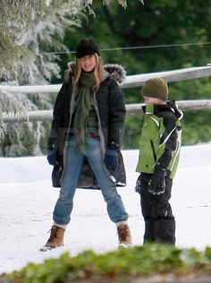 Jennifer and Owen Take Marley and Me From Bikinis to Snow