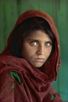 """Afghan Refugee"" by Steve McCurry, National Geographic"