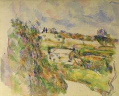 Paul Cézanne - Chemin des Lauves: The turn in the road
