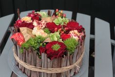 Love this European arrangement made by Holly Chapple.
