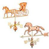 Horses #Weathervanes.