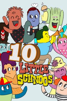 New story! 10 Little Schnoos. This is a super fun one!