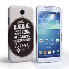 Caseflex Samsung Galaxy S4 Beer Label Quote Hard Case – Brown   Mobile Madhouse #BeerMat #BeerLabel #Typography #Quote #Beer #StPatricksDay #Gift #Present #Samsung #Galaxy #S4 #GalaxyS4 #SamsungS4 #Case #Cover #HardCase #PhoneCover #Holiday #Celebration