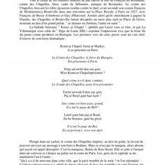 """La ballade bretonne """" Komt ar Chapel """" Tout le crédit de ces illustres familles ne put sauver la tête de François de Rosmadec, comte des Chapelles. http://slidehot.com/resources/chroniques-de-fouesnant-ct0uof.49828/"""