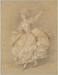 Jean-Michel Moreau, called Moreau Le Jeune, 'A Dancer', 1777 Vintage Wall Art, Vintage Walls, Drawing Sketches, Drawings, Academic Art, Art Deco Diamond, Diamond Brooch, Historical Women, National Gallery Of Art