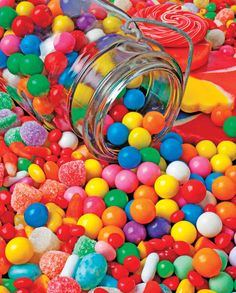 Candy is dandy... // Gumballs & Gumdrops - 1000pc Jigsaw Puzzle by Springbok http://www.seriouspuzzles.com/i12445.asp