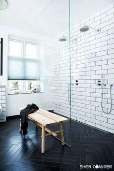 逆天浴室裝修,美得不敢進!