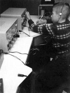 Steve Wozniak inventor of the Apple Computer at 11 years old on a ham radio