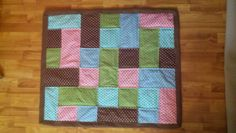 Easy Flannel Baby Blanket!