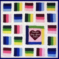🔎zoom PDF Pattern Crocheted Baby Toddler Afghan or Lapghan, Granny Patchwork Heart Baby Toddler Afghan or Lapghan Blanket Pattern Scrap Yarn Crochet, Love Crochet, Crochet Granny, Baby Afghan Crochet Patterns, Crochet Afghans, Crochet Blankets, Patchwork Heart, Patchwork Blanket, Manta Crochet