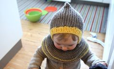 I am going to knit this one for my 1 year old daughter. It is SO cute!