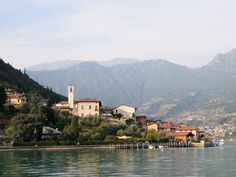 Located on an island of the same name, the town of Monte Isola sits in the middle of one of Italy's prettiest lakes, Lake Iseo. To get there, you'll need to drive an hour and a half from Milan, then take a 20-minute ferry ride across the lake from the town of Iseo, but it's well worth the effort. The quaint town boasts many excellent trattorias, lakeside cafés, cozy B