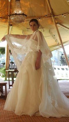 Gorgeous gown by Elizabeth de Varga Couture Bridal....love ♡