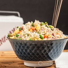 Chinese Fried Rice - I make this all the time, but this is an amped up version.