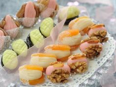 Date Recipes, Fruit Recipes, Fruits Deguises, Mousse, Sushi, Biscuits, Sweets, Cake, Ethnic Recipes