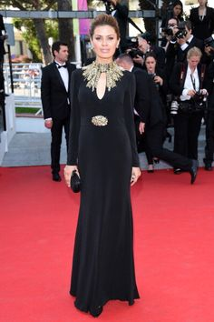 Fabulously Spotted: Victoria Bonia Wearing Alexander McQueen - 'Mr.Turner' 2014 Cannes Film Festival Premiere  - http://www.becauseiamfabulous.com/2014/05/victoria-bonia-wearing-alexander-mcqueen-mr-turner-2014-cannes-film-festival-premiere/