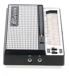 Dübreq S-1 Stylophone - vintage synthesizer in mini-sized format with built in speaker and mp3 audio input