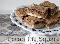 Pecan Pie Bars — A Southern Fairytale