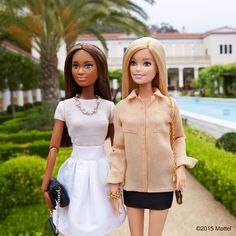 Museums always inform and inspire, so grab a friend and go! Enjoying a stroll through the gorgeous @gettyvilla. #besuper #barbie #barbiestyle