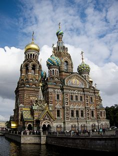 Church of the Savior on Blood.  Saint Petersburg (Russia).