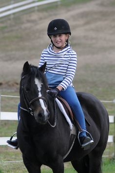 From school to riding lessons, this is a great look from Joules! http://www.tackroominc.com/joules-junior-seawell-navy-stripe-p-18447.html