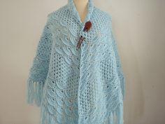 On sale! Baby Blue shawl by Namaoy