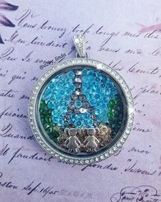A beautiful day in Old Paris. Legacy Locket