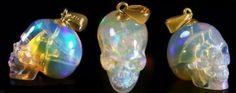 Australian Opal Skull pendant