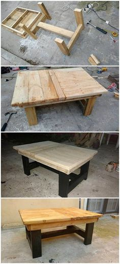 As you add up the use of wood pallet for the manufacturing of the table design, it eventually look interesting and creative as well. You can put together the use of the table for the purpose of dining options or even as the coffee table as well. Check out this image to get some further idea.