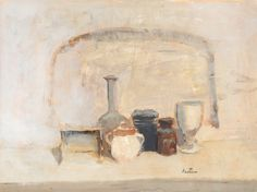 https://flic.kr/p/q2Ru7c   Louis Bastin - Still Life   Louis Bastin (Moscow, 1912 - 1979) was a Swedish painter and printmaker who studied in Paris and at the Art Academy in Stockholm.  [Bukowski's Spring Modern Auction, Stockholm - Gouache, 42 x 56 cm]