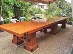 Superb A Medieval Banquet Table.