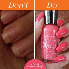 Do: Lucir uñas saludables y con tonos brillantes. Don't: Tener uñas quebradizas y sin vida. (Foto: bellashoot.com y pinterest.com)