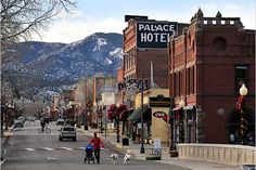 Salida Colorado Downtown
