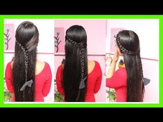 ❤ Peinados de Trenzas Faciles ❤ - YouTube