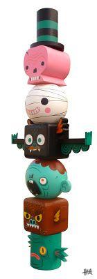 Art Toy design; by Gary Ham // Tags: #Toys #Art #Design