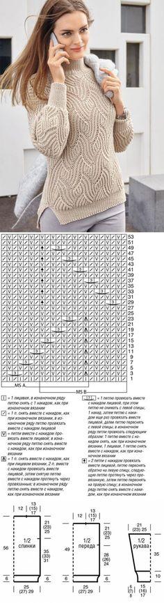 Митенки-напульсники ажурные спицами | Клубок